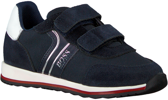 Blaue BOSS KIDS Sneaker low BASKET  - large