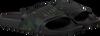 Black THE WHITE BRAND shoe ELASTIC MINIMAL  - small