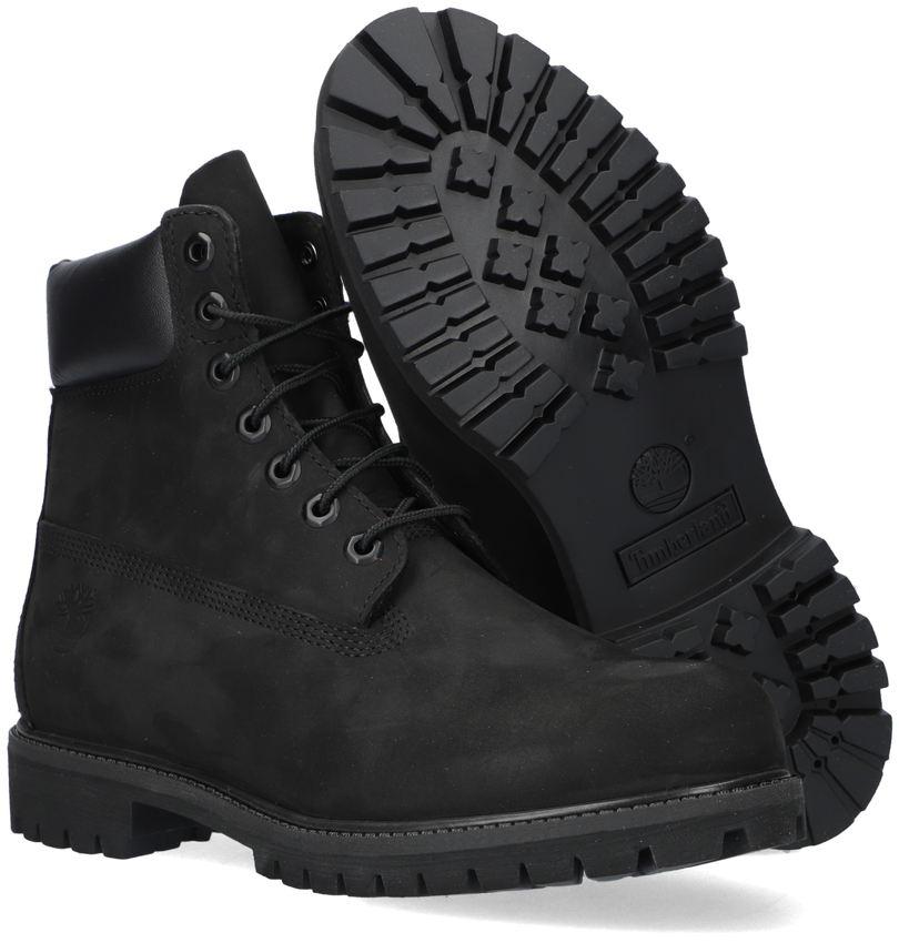 Schwarze TIMBERLAND Ankle Boots 6IN PREMIUM HEREN - larger