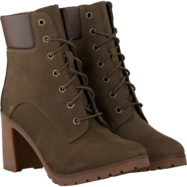 Grüne TIMBERLAND Ankle Boots ALLINGTON 6IN LACE - large