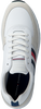 Weiße TOMMY HILFIGER Sneaker low MODERN CORPORATE RUNNER  - small