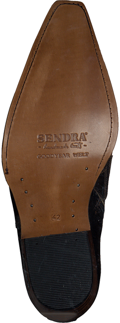 Braune SENDRA Cowboystiefel 12185P  - large