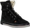 Schwarze HUB Ankle Boots VERMONT - small