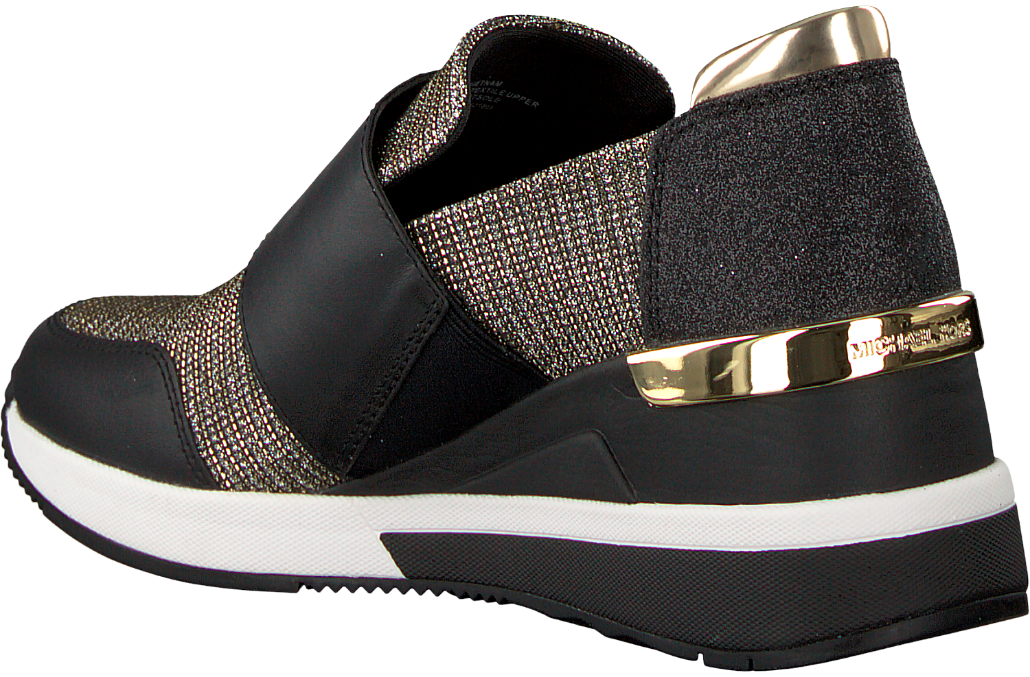 schwarze michael kors sneaker chelsie trainer schuhmode online. Black Bedroom Furniture Sets. Home Design Ideas