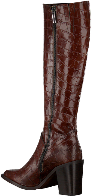 Cognacfarbene NOTRE-V Hohe Stiefel AH183 FORMA 802418 FONDO TACCO  - large