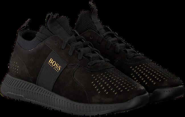 Schwarze HUGO BOSS Sneaker TITANIUM RUNN LUX - large
