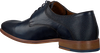 Blaue MAZZELTOV Business Schuhe 5053  - small
