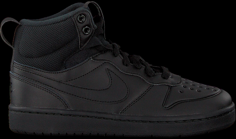 BOROUGH Schwarze Sneaker WINTER MID KIDS NIKE COURT vN8nywO0m