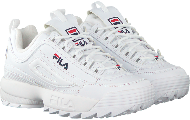 white FILA shoe DISRUPTOR S LOW WMN  - large