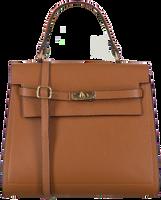 Cognacfarbene NOTRE-V Handtasche BENTE  - medium