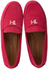 Rote TOMMY HILFIGER Mokassins TH HARDWARE MOCASSIN  - small