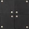 Schwarze SHABBIES Umhängetasche 262020065  - small