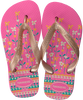 pink HAVAIANAS shoe FLORES KIDS  - small