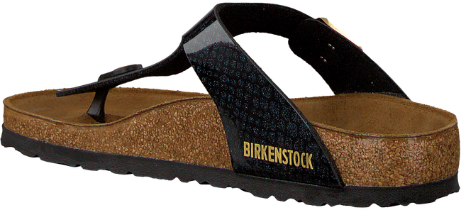 Schwarze BIRKENSTOCK Pantolette GIZEH MAGIC SNAKE - large