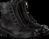 Schwarze MJUS Biker Boots 971236 SOLE PAL - small