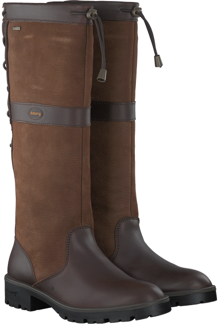 Braune DUBARRY Langschaftstiefel GLANMIRE - large