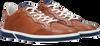 Cognacfarbene FLORIS VAN BOMMEL Sneaker low 13350  - small