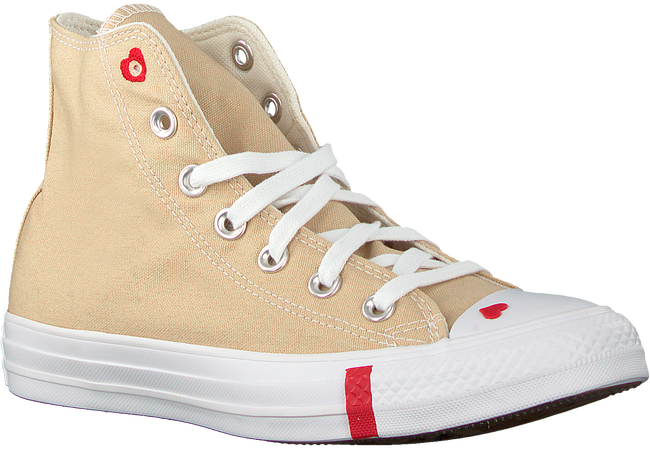 Beige CONVERSE Sneaker high CHUCK TAYLOR AS LOVE  - large