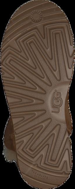 Camelfarbene UGG Stiefeletten CLASSIC CUFF MINI - large