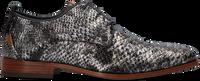 Graue REHAB Business Schuhe GREG SNAKE MET 121  - medium