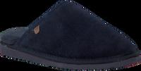Blaue WARMBAT Hausschuhe CLASSIC UNISEX SUEDE - medium