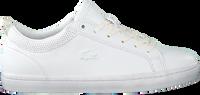 Weiße LACOSTE Sneaker low STRAIGHTSET 120 1  - medium