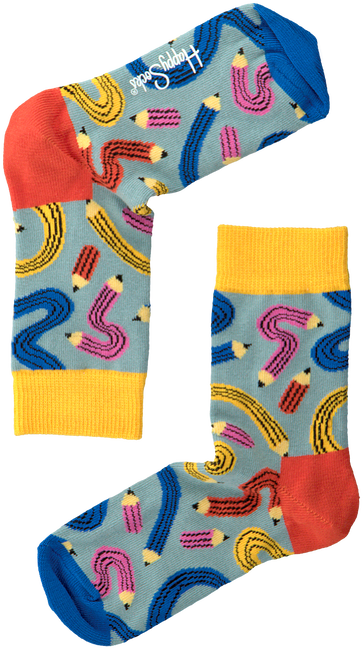 Blaue HAPPY SOCKS Socken KIDS PEN  - large