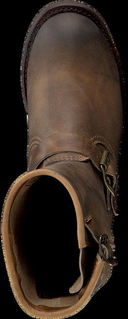 Braune SENDRA Biker Boots 12399 - large