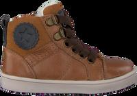 Cognacfarbene OMODA Sneaker high OM120717  - medium