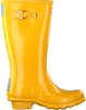 Gelbe HUNTER Gummistiefel ORIGINAL KIDS GLOSS - small