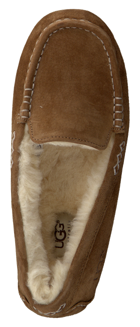 Cognacfarbene UGG Hausschuhe ANSLEY - large