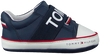 Blaue TOMMY HILFIGER Babyschuhe LACE-UP SHOE  - small