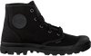 Schwarze PALLADIUM Ankle Boots PAMPA HIGH D - small