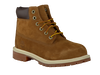 Camelfarbene TIMBERLAND Ankle Boots 6IN PRM WP BOOT KIDS - small