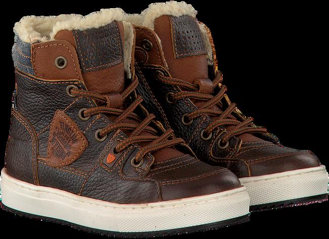 Braune VINGINO Sneaker SIL MID FUR - large