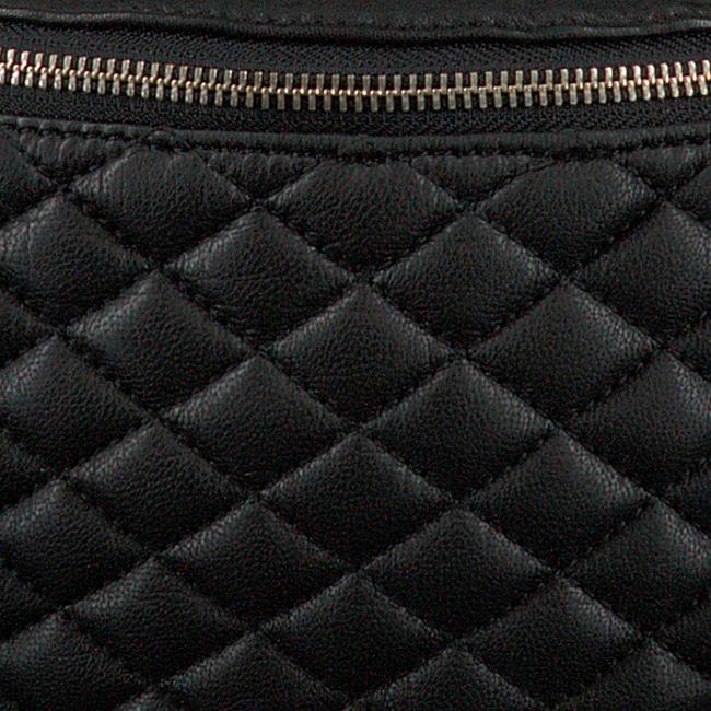 Schwarze DEPECHE Gürteltasche BUM BAG 13918  - large