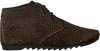 Braune MARUTI Schnürschuhe GINNY  - small