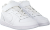 Weiße NIKE Sneaker COURT BOROUGH MID (KIDS)  - small