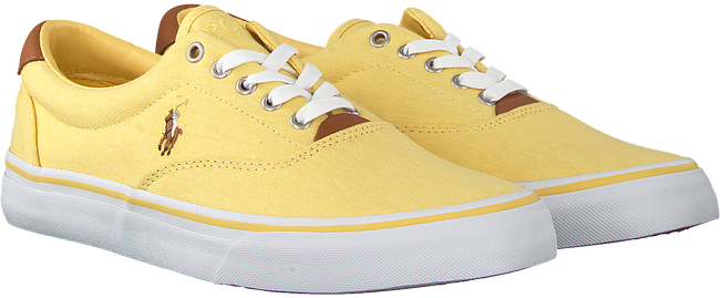 Gelbe POLO RALPH LAUREN Sneaker THORTON  - large