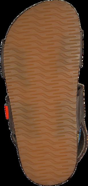 Braune CLIC! Sandalen TROY - large