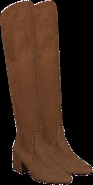 Cognacfarbene NOTRE-V Hohe Stiefel MARTINA1  - large