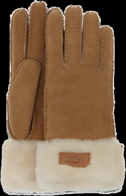 Braune UGG Handschuhe TURN CUFF GLOVE - large