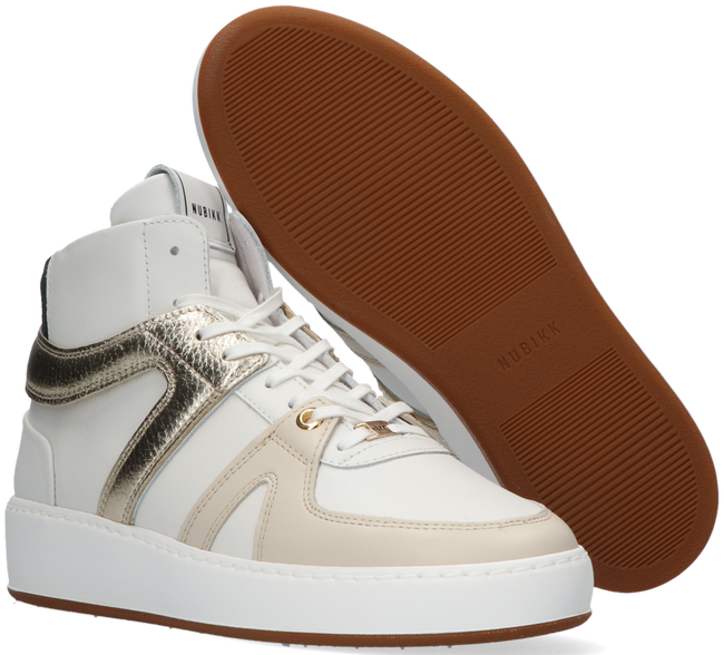 Weiße NUBIKK Sneaker high JIRO DUNK  - large