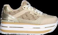 Goldfarbene GUESS Sneaker low HANSIN  - medium