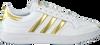 Weiße ADIDAS Sneaker low TEAM COURT W  - small
