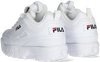 Weiße FILA Sneaker low DISRUPTOR INFANTS  - small