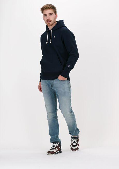 Dunkelblau CHAMPION Sweater REVERSE WEAVE HOODIE - large