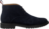 Blaue GREVE Schnürschuhe BARBOUR 5565  - small