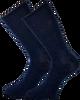 Blaue MARCMARCS Socken GWEN 2-PACK LANG - small