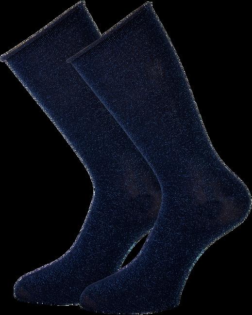 Blaue MARCMARCS Socken GWEN 2-PACK LANG - large
